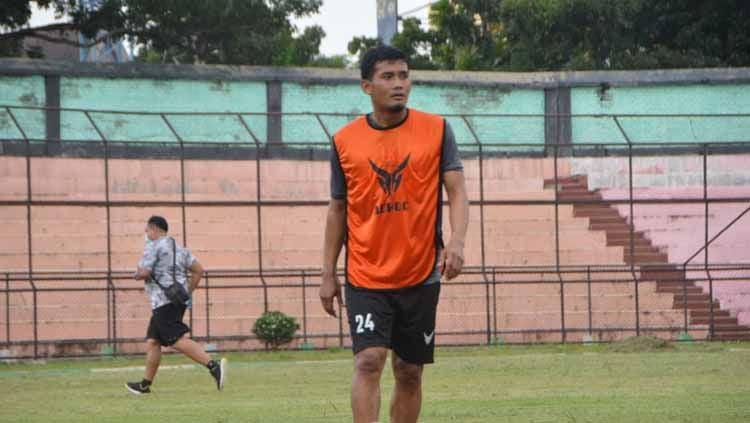 Klub Liga 2, PSMS Medan, menegaskan posisi Legimin Raharjo tak rangkap jabatan di dalam tim, usai ditetapkan menjadi asisten pelatih. Copyright: © Aldi Aulia Anwar/INDOSPORT