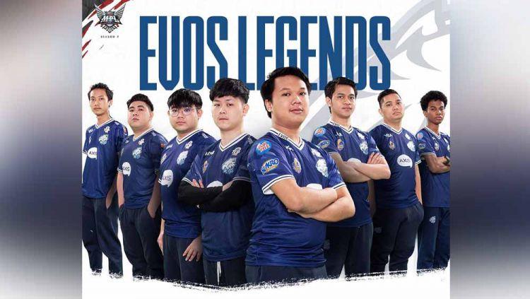 EVOS Legends. Copyright: © Instagram@mpl.id.official