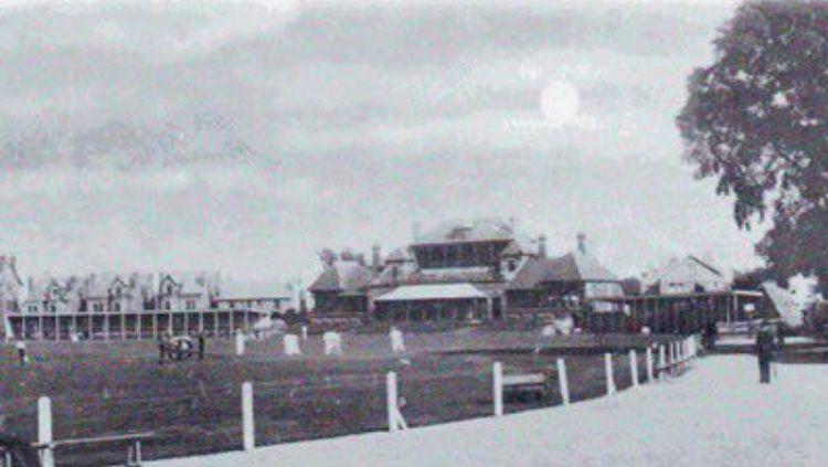 Lokasi pertandingan British Home Championship antara Inggris vs Irlandia, 20 Februari 1897. Copyright: © Twitter Pride of Nottingham