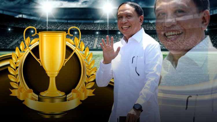 Ilustrasi Piala Menpora 2021. Copyright: © Grafis:Yanto/Indosport.com