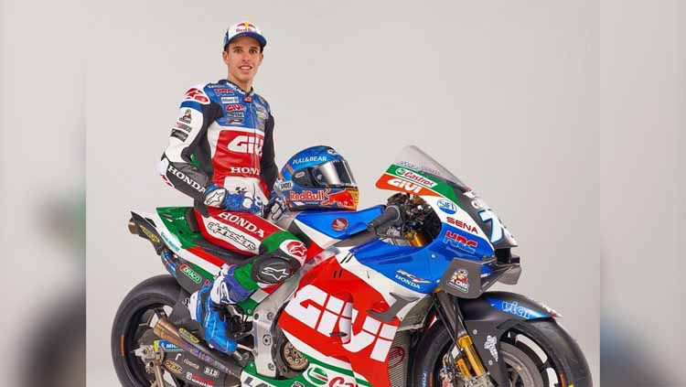Livery motor baru Alex Marquez bersama LCR Honda untuk MotoGP 2021 . Copyright: © Instagram/@lcr.team