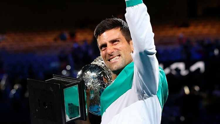Novak Djokovic Copyright: © Instagram/@djokernole