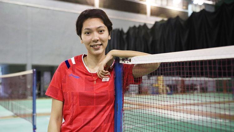 Gloria Emanuelle WIdjaja, Atlet Ganda Campuran Indonesia. Copyright: © Humas PBSI