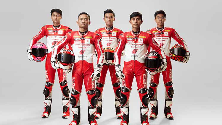 Pembalap Astra Honda Racing Team. Copyright: © ASTRA HONDA RACING TEAM