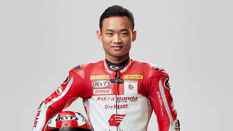 Pembalap Astra Honda Racing Team, Rheza Danica. Copyright: © ASTRA HONDA RACING TEAM