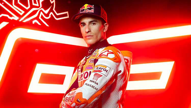 Pembalap Repsol Honda, Marc Marquez, baru saja mendapatkan kabar gembira karena dirinya diperbolehkan ikut balapan MotoGP Portugal 2021. Copyright: © Repsol Honda Team