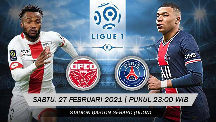 Prediksi Pertandingan Dijon FCO vs Paris Saint-Germain. Copyright: © Grafis:Yanto/Indosport.com