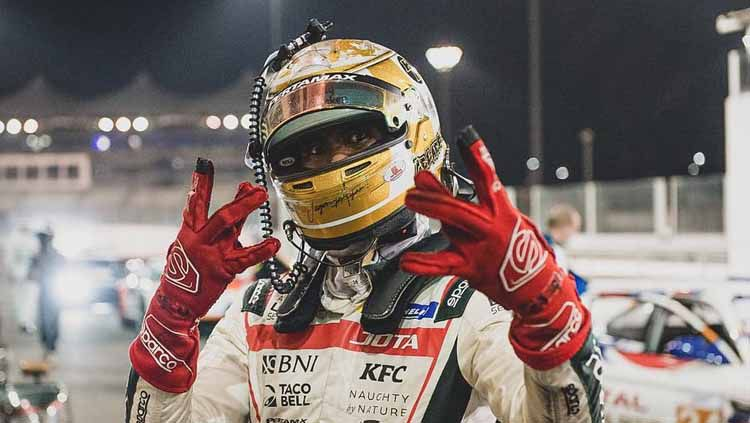 Sean Gelael di kejuaraan Asian Le Mans 2021 Copyright: © Instagram/@gelaelized