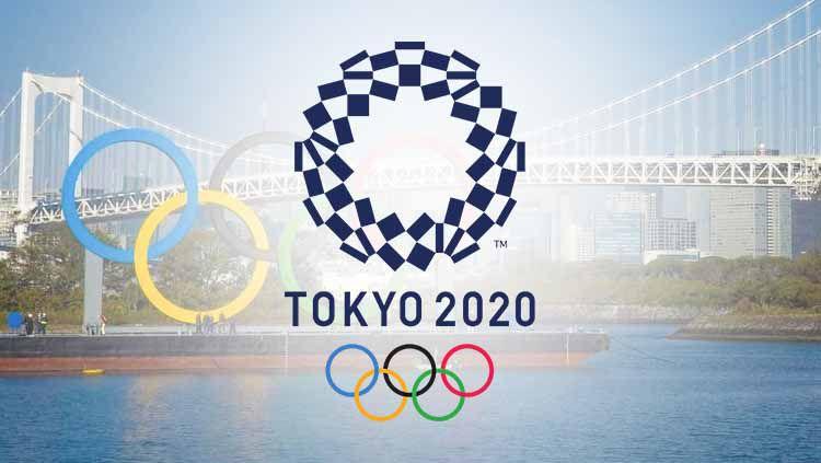 Logo Olimpiade Tokyo 2020. Copyright: © Grafis:Frmn/Indosport.com