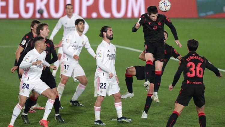 Berikut klasemen sementara LaLiga Spanyol, Selasa (02/03/21), Real Madrid gagal kudeta Barcelona. Copyright: © (Photo by Gonzalo Arroyo Moreno/Getty Images)