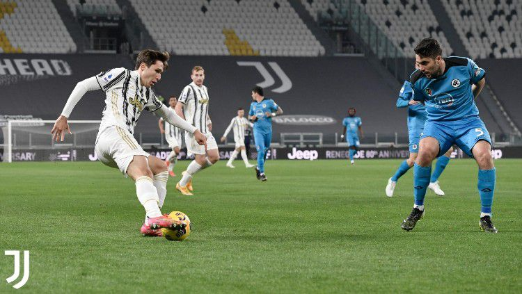 Berikut hasil pertandingan Serie A Liga Italia Juventus vs Spezia. Copyright: © twitter.com/juventusfc