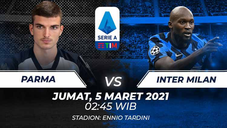 Link Live Streaming Serie A Liga Italia: Parma vs Inter ...