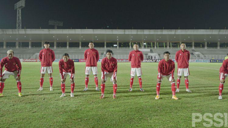 Starting Eleven Timnas Indonesia U-23 Copyright: © Naufal Laudza/PSSI