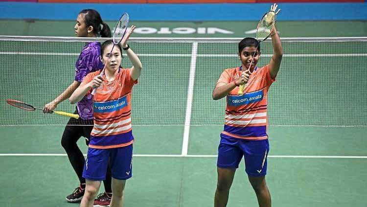 Pasangan Pearly Tan/Thinaah Muralitharan berhasil kalahkan unggulan 2 yakni Gabriela Stoeva/Stefani Stoeva di final Swiss Open 2021, media Malaysia kegirangan. Copyright: © Thestar