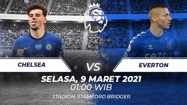 Link live streaming Liga Inggris antara Chelsea vs Everton. Copyright: © Grafis:Frmn/Indosport.com