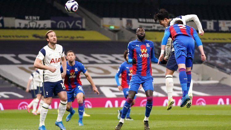 Hasil laga Liga Inggris antara Tottenham Hotspur vs Crystal Palace. Copyright: © twitter.com/SpursOfficial