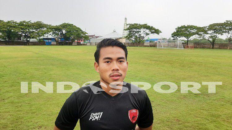 Pemain Anyar PSM Makassar, Nurhidayat Haji Haris. Copyright: © Adriyan Adirizky/INDOSPORT