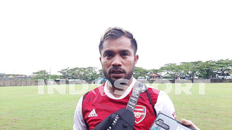 Zulham Zamrun kembali gabung PSM Makassar. Copyright: © Adriyan Adirizky/INDOSPORT