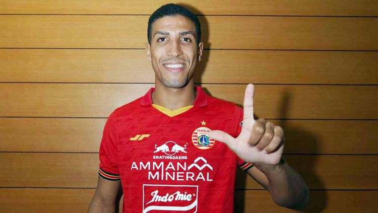 Yann Motta, pemain baru Persija Jakarta. Copyright: © Media Persija