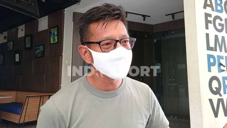 Direktur PT PBB, Teddy Tjahjono, ditemui di Graha Persib, Jalan Sulanjana, Kota Bandung, Rabu (17/03/21). Copyright: © Arif Rahman/INDOSPORT