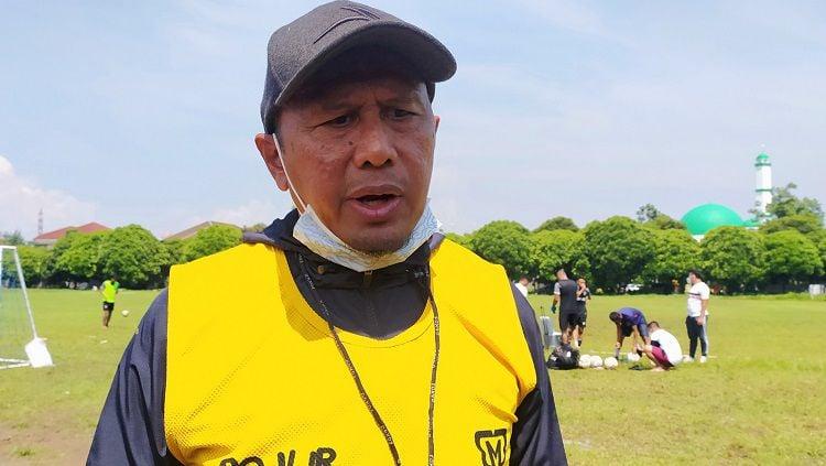 Indosport - Pelatih Madura United, Rahmad Darmawan.