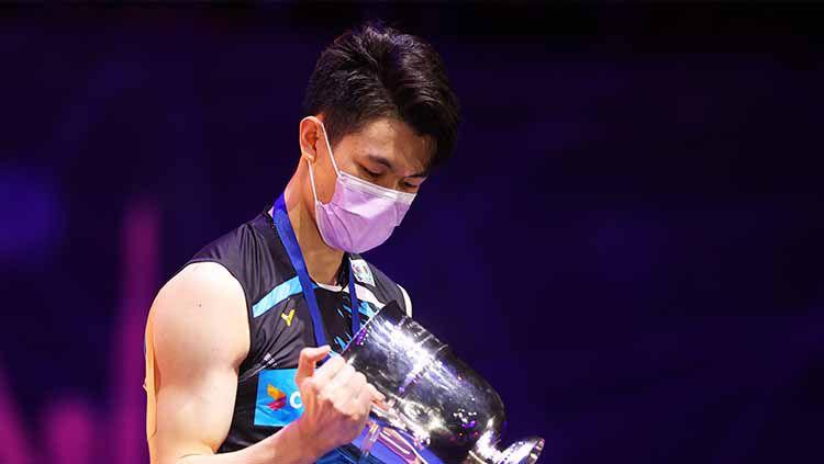 Dianggap berada di grup mudah pada babak penyisihan bulutangkis Olimpiade 2020, tunggal putra terbaik Malaysia, Lee Zii Jia, memilih untuk tetap waspada. Copyright: © Naomi Baker/Getty Images