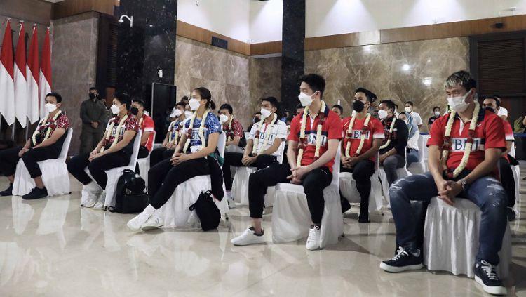 Bulutangkis sukses cetak prestasi untuk Indonesia, media asing asal Amerika Serikat, New York Times, soroti pentingnya olahraga tersebut untuk Tanah Air. Copyright: © PBSI