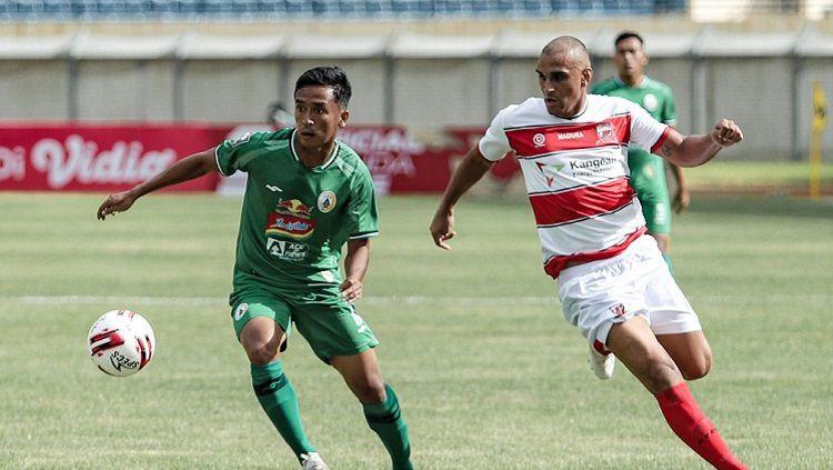 Madura United vs PSS Sleman di Piala Menpora, Selasa (23/03/21). Copyright: © PSS