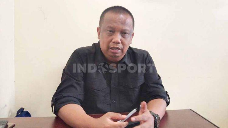 Manajer tim PSMS, Mulyadi Simatupang, buka suara soal kepindahan Paulo Sitanggang ke Borneo FC. Copyright: © Aldi Aulia Anwar/INDOSPORT