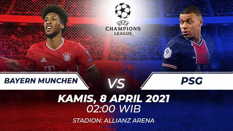 Bayern Munchen vs Psg. Copyright: © Grafis:Frmn/Indosport.com
