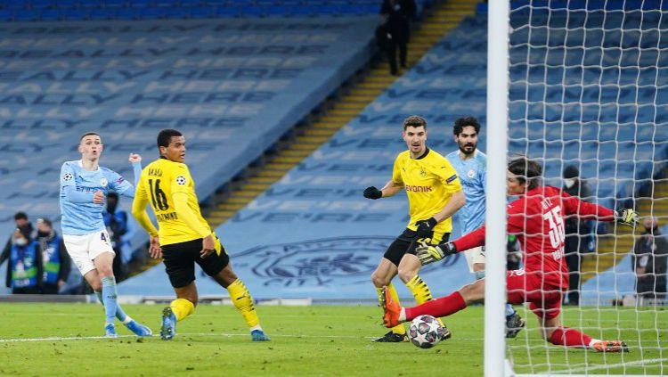 Dua Pemain Ini Dikritik Pep Guardiola Pasca Man City Menang Atas Dortmund. Copyright: © Twitter @ChampionsLeague