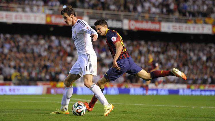 Real Madrid vs Barcelona: Ketika Marc Bartra Butuh Sepeda Motor Buat Mengejar Gareth Bale Copyright: © Denis Doyle/Getty Images