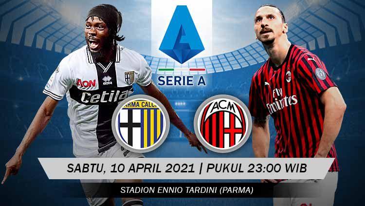 Link live streaming Serie A Liga Italia antara Parma vs AC Milan. Copyright: © Grafis:Yanto/Indosport.com