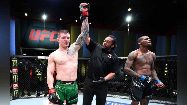 Berikut hasil lengkap UFC Vegas 23, di mana Marvin Vettori berhasil mengalahkan Kevin Holland pada Minggu (11/04/21) dini hari WIB. Copyright: © Chris Unger/Zuffa LLC/Gettyimages