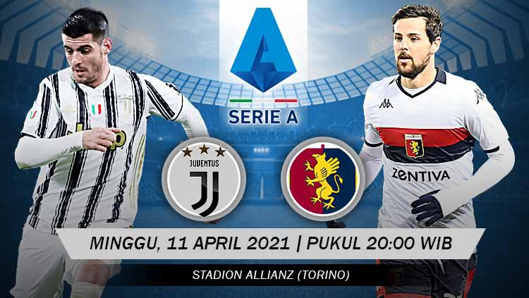 Prediksi Juventus vs Genoa: Bianconeri Wajib Menang Demi Liga Champions Copyright: © Grafis:Yanto/Indosport.com