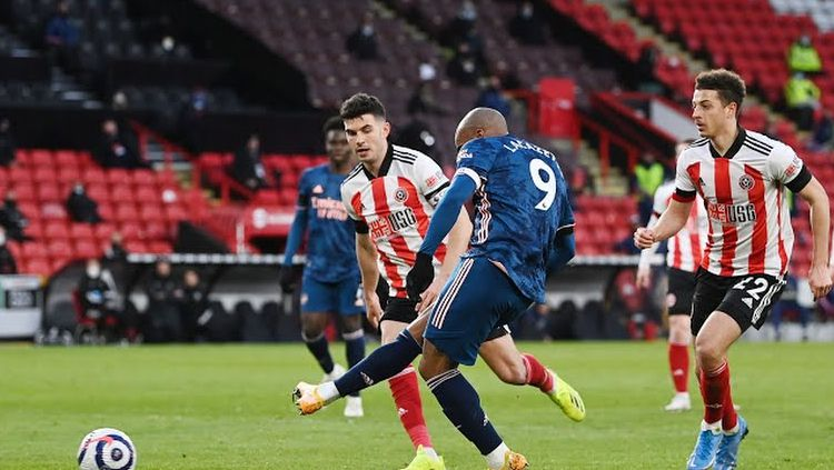Pertandingan Liga Inggris Sheffield United vs Arsenal Copyright: © Reuters