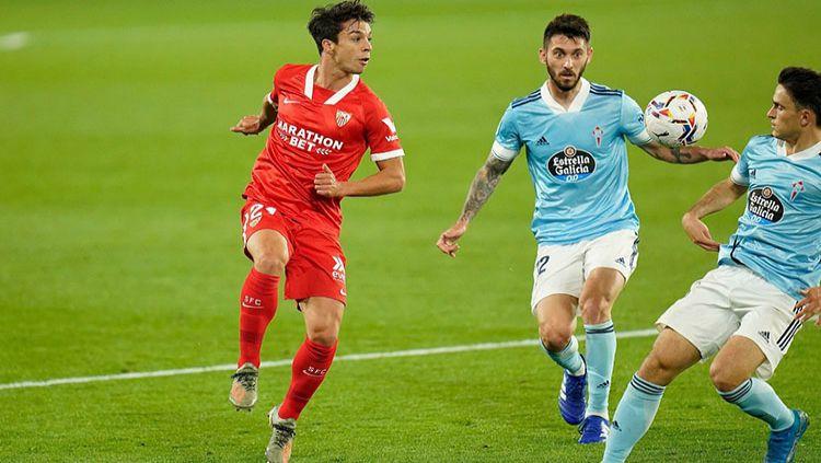 Menang 4-3 atas Celta Vigo, Sevilla ancam posisi Barcelona. Copyright: © Twitter.com/SevillaFC