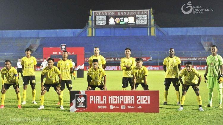 Barito Putera akan berhadapan dengan Persib Bandung pada lanjutan Liga 1, Sabtu (04/09/21) malam. Copyright: © PT LIB
