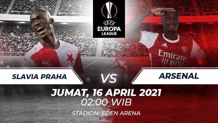 Slavia Praha vs Arsenal. Copyright: © Grafis:Frmn/Indosport.com