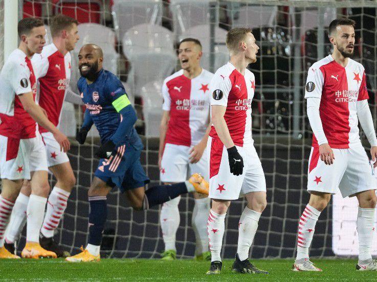 Hasil Pertandingan Liga Europa Slavia Praha vs Arsenal: The Gunners Mengamuk