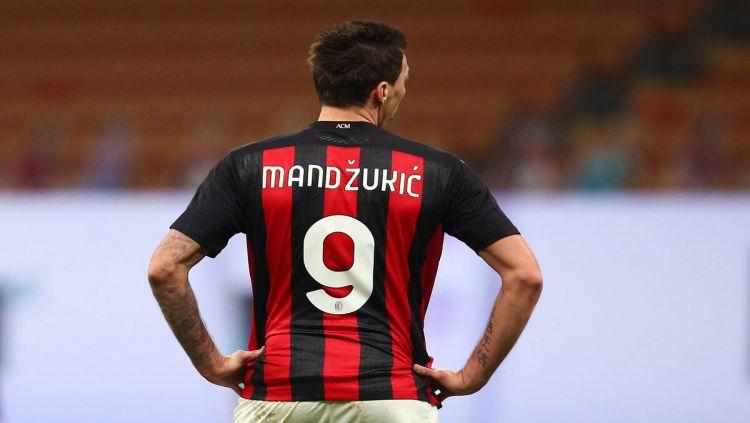 Striker AC Milan, Mario Mandzukic Copyright: © Sempre Milan