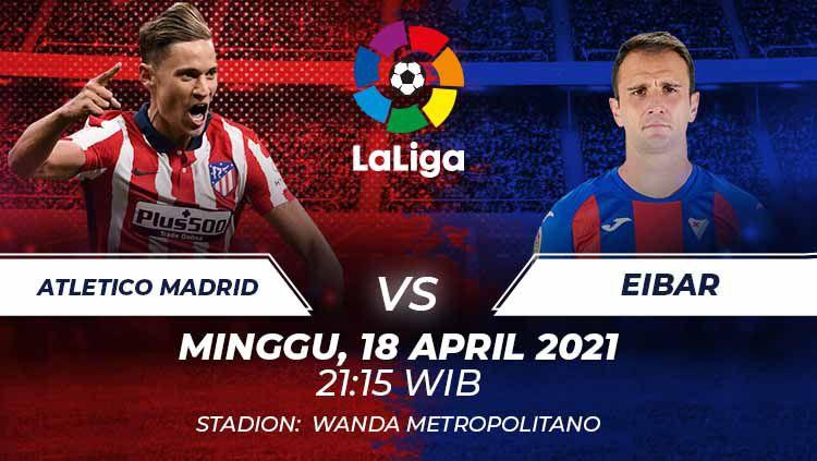 Atletico Madrid vs Eibar Copyright: © Grafis:Frmn/Indosport.com