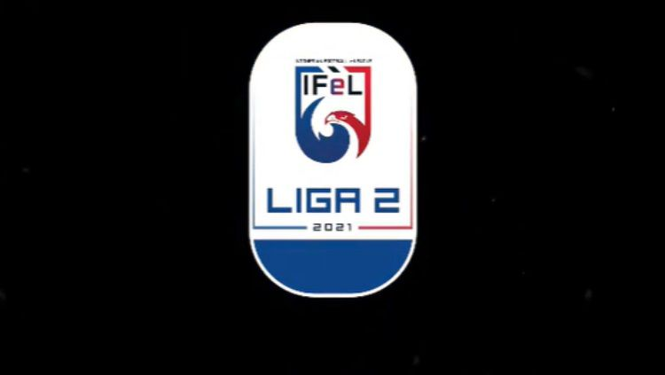 Hasil dan klasemen sementara kompetisi Indonesian Football e-League (IFeL) Liga 2 pekan satu, 5-6 Juni 2021. Copyright: © Instagram @ifel.id