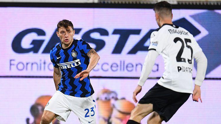Spezia vs Inter Milan Copyright: © Twitter.com/@inter