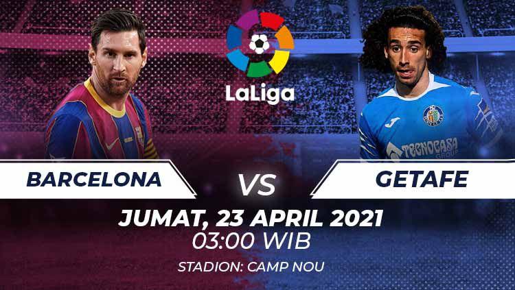 Barcelona vs Getafe Copyright: © Grafis:Frmn/Indosport.com