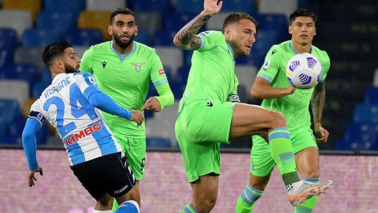 Napoli vs Lazio. Copyright: © Twitter.com/@oficialsslazio