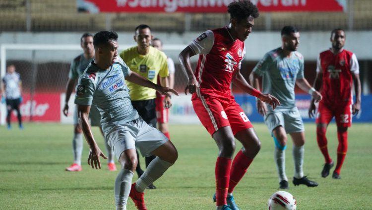 Laga leg 1 final Piala Menpora 2021 antara Persija vs Persib di Stadion Maguwoharjo, Kamis (22/04/21). Copyright: © Khairul Imam/Persija
