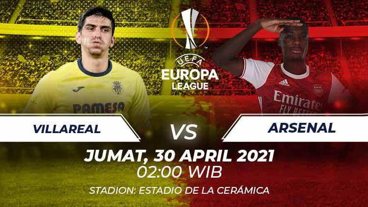 Prediksi Liga Europa Villarreal vs Arsenal. Copyright: © Grafis: Heru Firmansyah/INDOSPORT