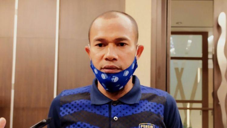 Kapten Persib, Supardi Nasir, saat ditemui di salah satu hotel di Bandung, Senin (26/04/21). Copyright: © Arif Rahman/INDOSPORT