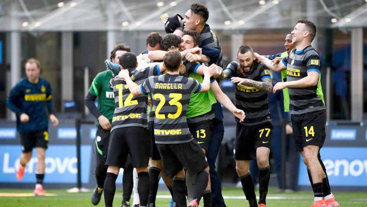 Skuat Inter Milan. Copyright: © Nicolò Campo/LightRocket via Getty Images
